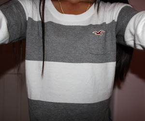 hollister and sweater image