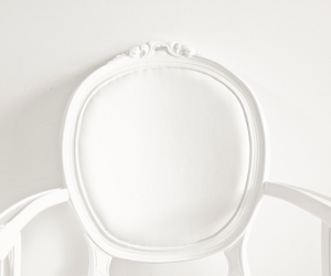 white and chair image