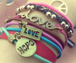 love, hope, and peace image