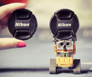toy, wall-e, and cute image