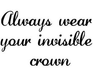 crown, quote, and text image