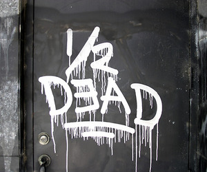 dead and graffiti image