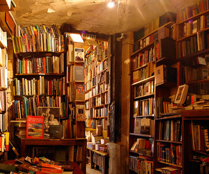 book, bookshop, and library image