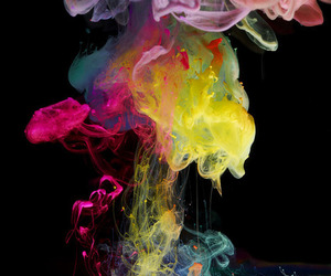 colors, smoke, and colours image
