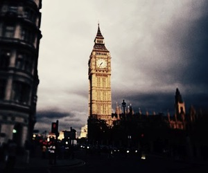 Big Ben, girl, and hipster image