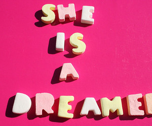dreamer, pink, and Dream image