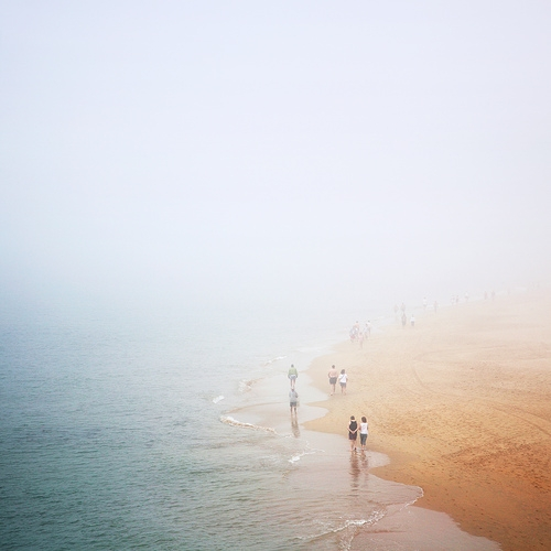 atmosphere, fog, and people image