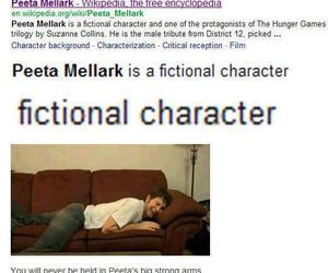 the hunger games, peeta mellark, and peeta image