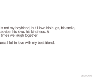 best friend, saying, and love image