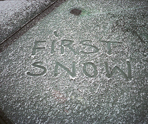 snow, winter, and first image
