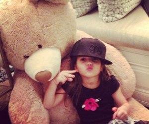 baby, bear, and swag image