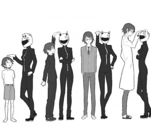 durarara, celty, and shinra image