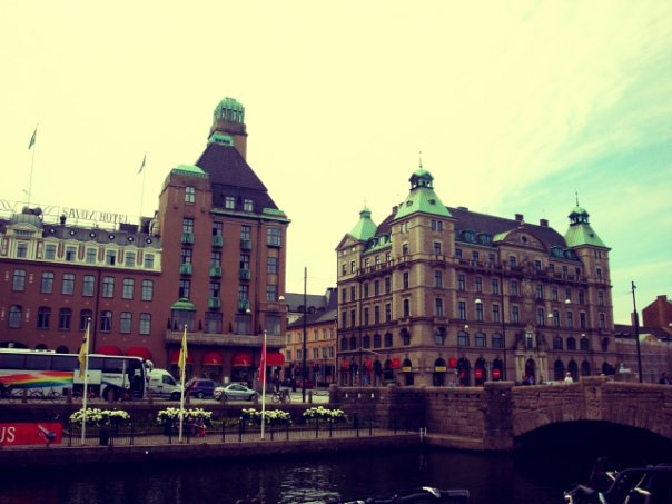 malmo, street, and sweden image