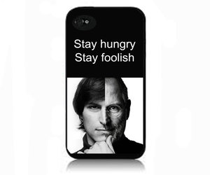 apple, Steve Jobs, and iphone 5 case image