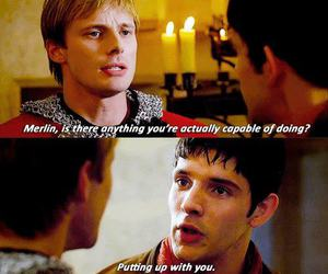 bromance, colin morgan, and funny image