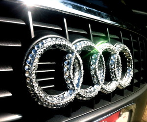 audi, car, and diamond image