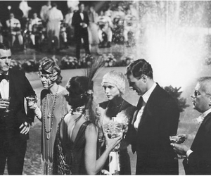 the great gatsby, 1920's, and vintage image