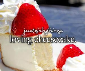 food, cheesecake, and dessert image