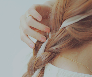 hair, braid, and photography image