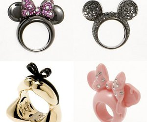 disney, rings, and minnie image