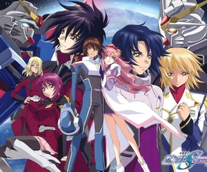 freedom, kira yamato, and gundam seed destiny image