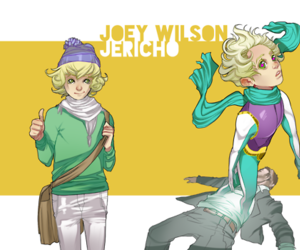 dc comics, jericho, and joey wilson image