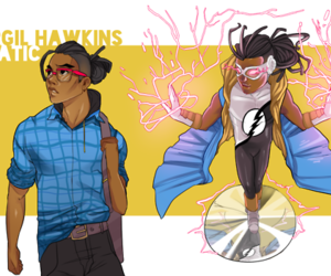 static, dc comics, and static shock image