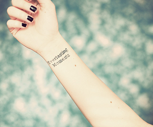 tattoo, moment, and everlasting image