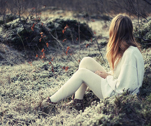 girl, nature, and blonde image