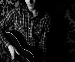 black and white, guitar, and jack white image