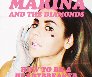 marina and the diamonds, heartbreaker, and how to be a heartbreaker image
