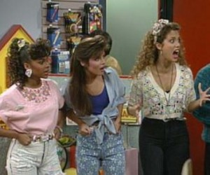 jessie, lisa, and saved by the bell image