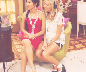 ashley tisdale and brenda song image