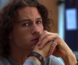 heath ledger, movie, and 10 things i hate about you image