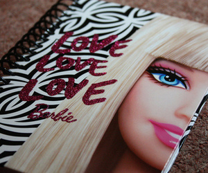barbie, glitter, and photography image