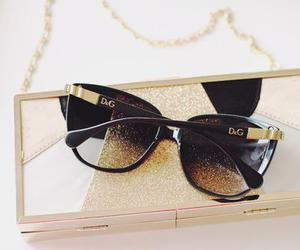 fashion, sunglasses, and D&G image