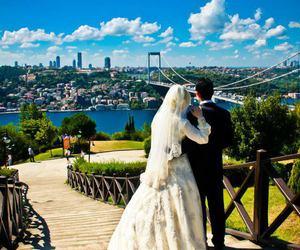 wedding, muslim, and bride image