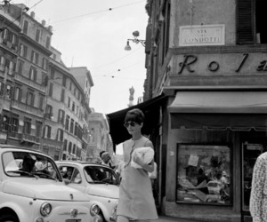 audrey, brunette, and war and peace image