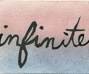 infinite, text, and quote image