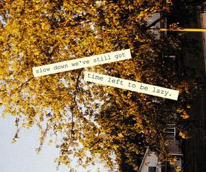 autumn, Lyrics, and fall image