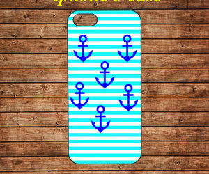 anchor, iphone 5 case, and iphone 5 hard case image