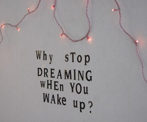 lights, pink, and quote image
