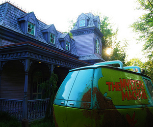 scooby doo, photography, and the mystery machine image