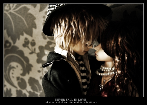 bjd, couple, and photography image