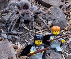 harry potter, lego, and spider image
