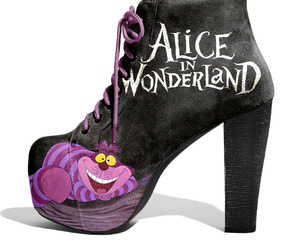 alice in wonderland, shoes, and heels image