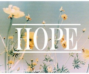 hope and text image