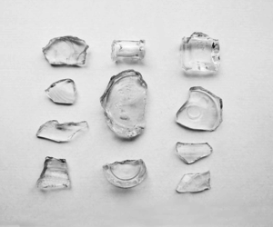 glass and pale image