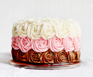 cake, photography, and pink image