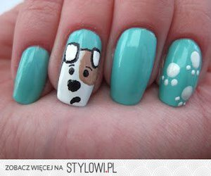 nails, reksio, and polish animated dog!!! image